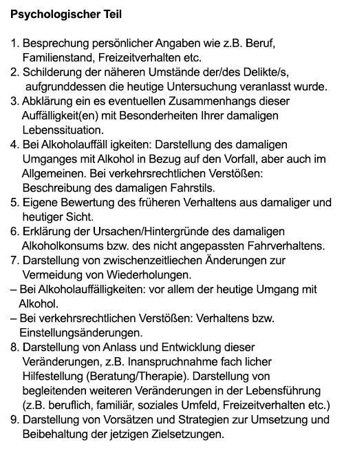 Führerscheinentzug  in  Backnang