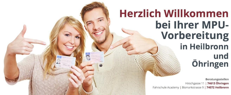 MPU Beratung für Weilheim (Teck) - Strohhäcker: Führerschein Hilfe, Vorbereitung, Training